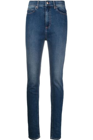 RED Valentino Contrast-stitch denim jeans