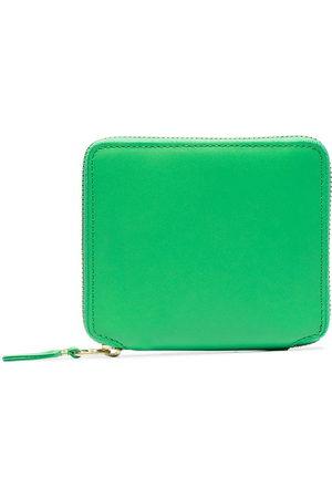 Comme des Garçons Square-shape zipped wallet