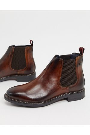 Base London Seymour chelsea boots in leather