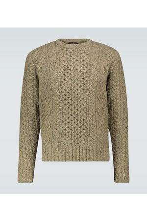 RRL Donegal wool sweater