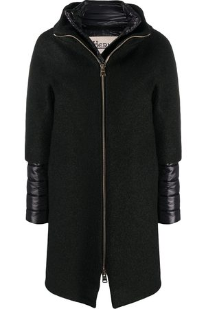HERNO Women Trench Coats - Padded-detail mid-length coat
