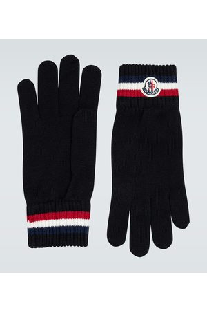 Moncler Wool ribbed gloves