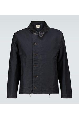 RRL Jungle cloth deck jacket