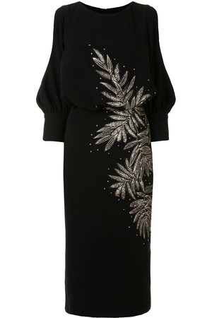 Saiid Kobeisy Women Evenings Dresses - Open-shoulder embroidered dress