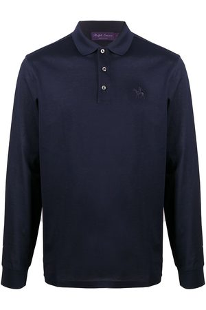 Ralph Lauren Long-sleeved logo cotton polo
