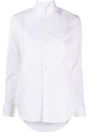Ralph Lauren Wingtip-collar tuxedo shirt