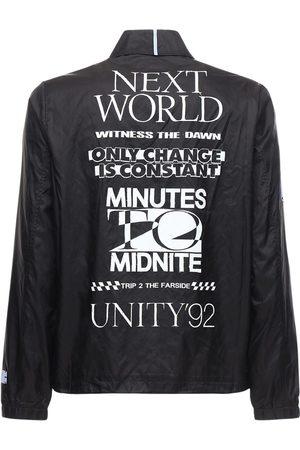 McQ Genesis Ii Nylon Shirt Jacket