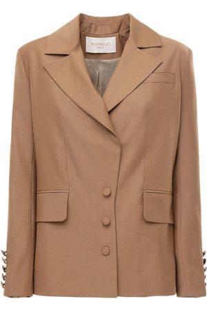 MATÉRIEL by Aleksandre Akhalkatsishvili Women Blazers - Cool Wool Blazer W/ Back Detail