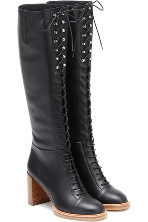 GABRIELA HEARST Pat 75 knee-high boots