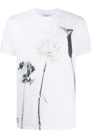 VALENTINO Floral-print short-sleeve T-shirt