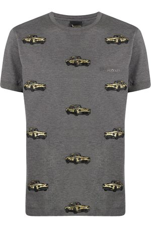 BILLIONAIRE Car embroidery cotton T-shirt