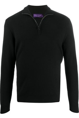 Ralph Lauren Zipped up ribbed knit jumper