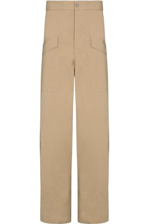 Bottega Veneta Flap pocket cotton trousers