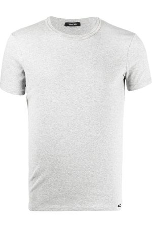 Tom Ford Logo patch crew neck T-shirt