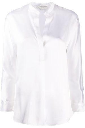 Vince Open neck loose fit blouse