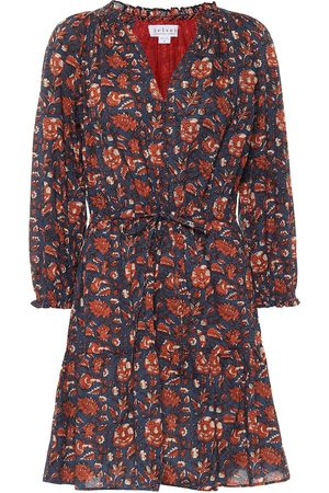 Velvet Shoshana floral cotton minidress