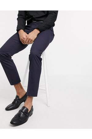 Selected Suit trouser with stretch in slim fit