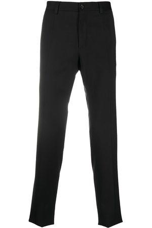 Dolce & Gabbana Side-strap virgin wool trousers