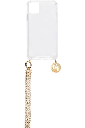 ROSANTICA Clear Simon iPhone 11 Plus case with crystal strap