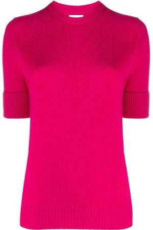 Barrie Blabel short-sleeved cashmere jumper