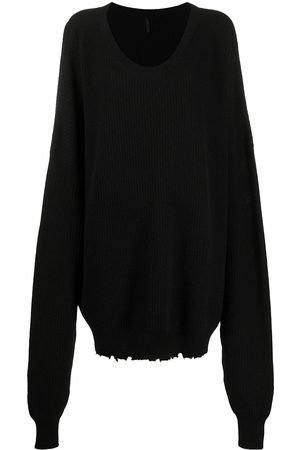 Unravel Project Women Long Sleeve - Slouchy long-sleeved jumper