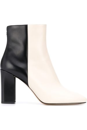 Nicholas Kirkwood Women Ankle Boots - Elements 85mm two-tone ankle boots