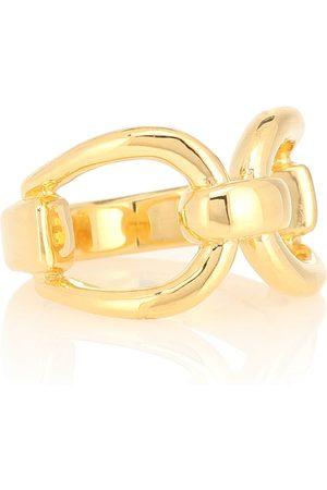 Sophie Buhai Horsebit 18kt -vermeil ring