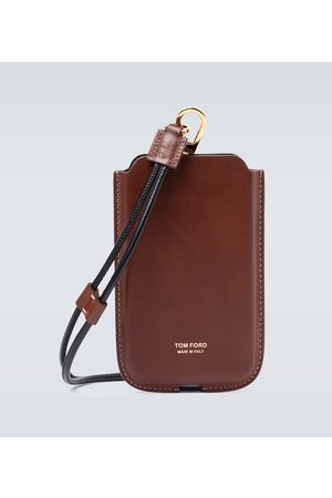Tom Ford IPhone case with neck strap