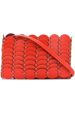 Paco rabanne Leather chain-link bag