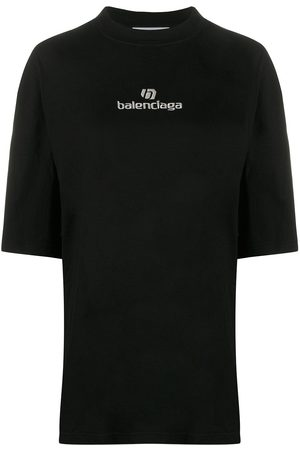 Balenciaga Embroidered logo oversized T-shirt