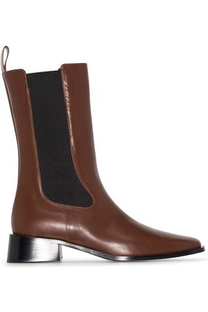 Neous 35 mm Leather Chelsea Boots