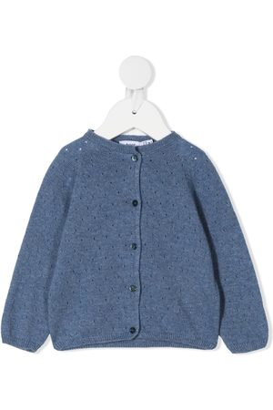 KNOT Perforated knit cardigan