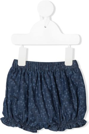 KNOT Amie floral-print denim bloomers