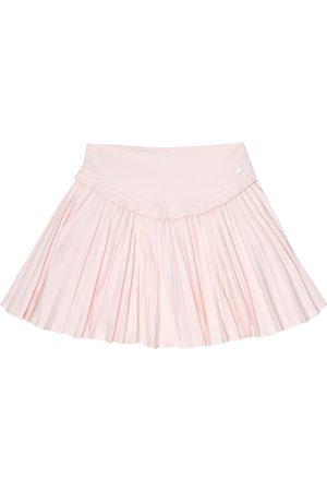 Tartine Et Chocolat Pleated jersey skirt