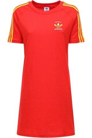 adidas 3-s Italy Cotton T-shirt Dress