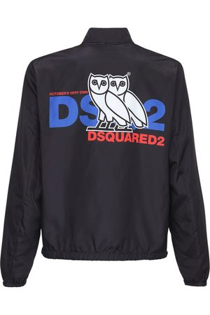 Dsquared2 Ovo Capsule Logo Print Tech Jacket