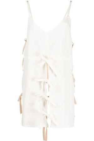 Colville Women Vests - V-neck tie tunic
