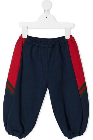 Gucci Panelled sides balloon sweatpants