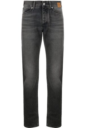 Palm Angels Straight-leg mid-rise jeans