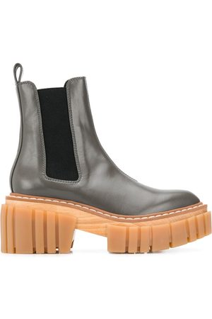 Stella McCartney Ridged-platform ankle boots