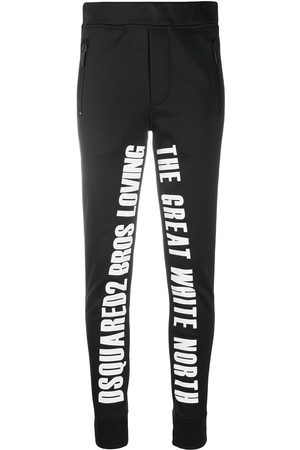 Dsquared2 Slogan print ski trousers