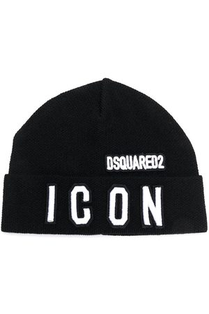 Dsquared2 Embroidered-logo beanie