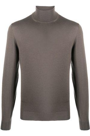 DELL'OGLIO Fine knit roll neck jumper