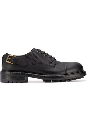 Dolce & Gabbana Leather buckle Derby shoes