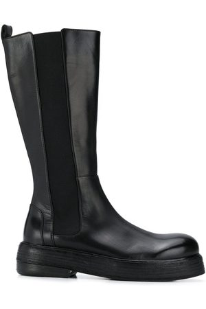 MARSÈLL Chunky sole leather boots