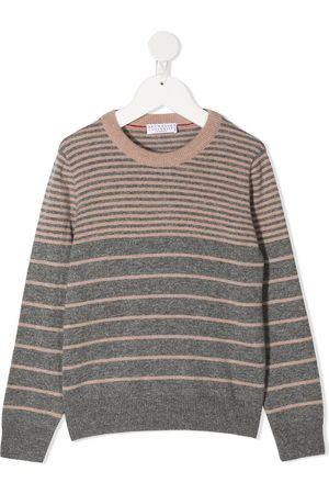 Brunello Cucinelli Colour-block jumper