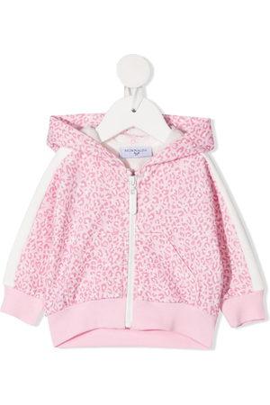 MONNALISA Hoodies - Alice zip-up hoodie