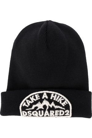 Dsquared2 Men Beanies - Embroidered logo beanie