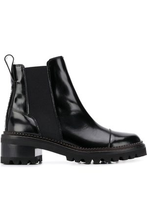 See by Chloé Women Boots - Leather chelsea boots