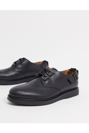 H by Hudson Men Footwear - Trent buckle lace up shoes in leather